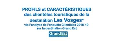 Enquête clientèle 2018-2019 - résultats Massif des Vosges